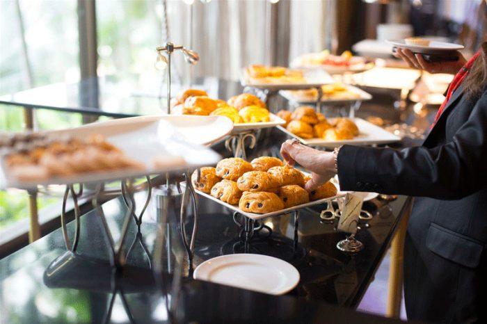 catering perfecto para un desayuno de trabajo